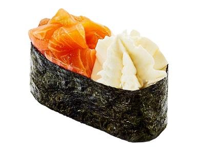 Суши с копченой кетой